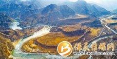 北京永定河启动冬季生态补水