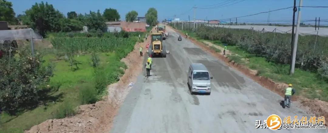 """延安黄陵327国道和210国道改建工程即将完工!预计""""十一""""通车"""